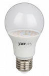 PPG A60 Agro 9w CLEAR E27 IP20 ( для растений) лампа фито Jazzway